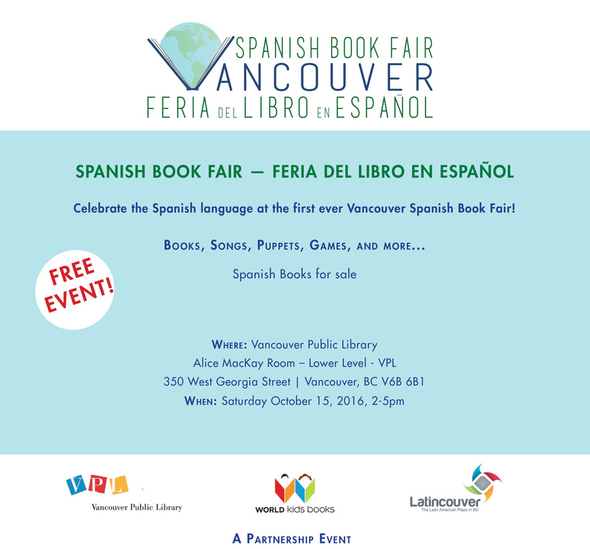 Spanish Book Fair - FREE EVENT - Saturday Oct  15, 2016 - BC